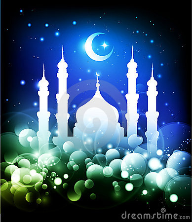 Ramadan Background Royalty Free Stock Images - Image: 19745049