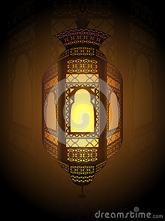 Ramadan fanoos background