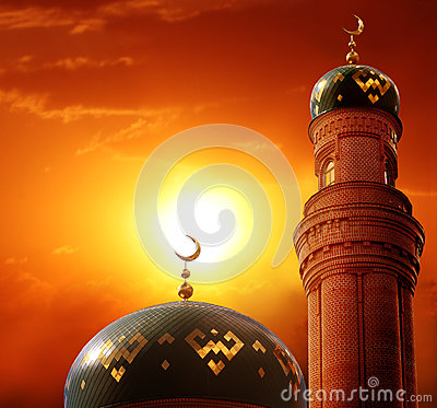 Ramadan Kareem background.Islamic greeting Eid Mubarak cards fo Stock Photo