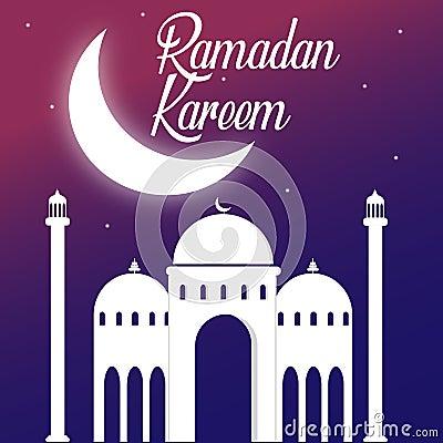 Ramadan kareem islamic vector Vector Illustration