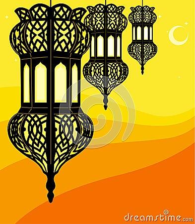 Free Ramadan Lantern Royalty Free Stock Photos - 15002608