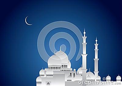 Ramadan Night Vector Illustration