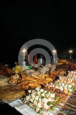 Ramadan Night Fest At Stone Town Zanzibar