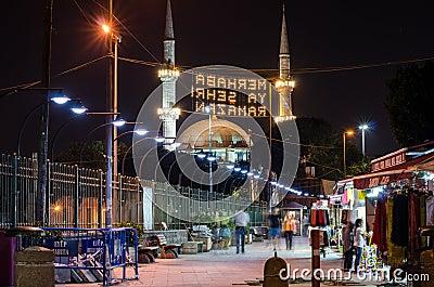 Ramadan night II Editorial Stock Photo