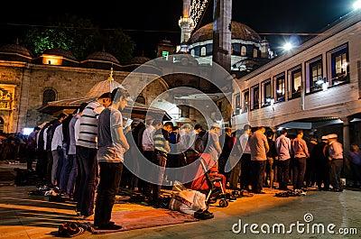 Ramadan night III Editorial Stock Photo