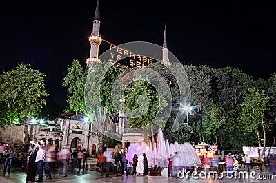 Ramadan night IV Editorial Stock Photo