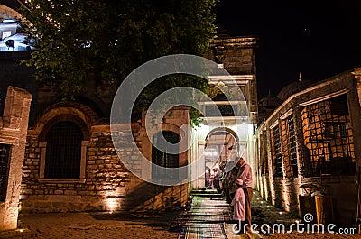 Ramadan night IX Editorial Stock Photo