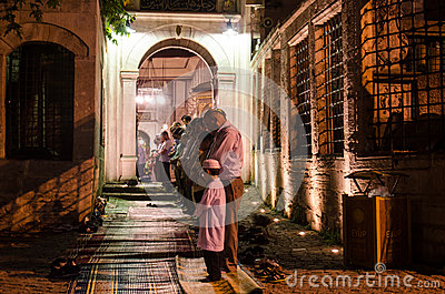 Ramadan night XII Editorial Stock Photo