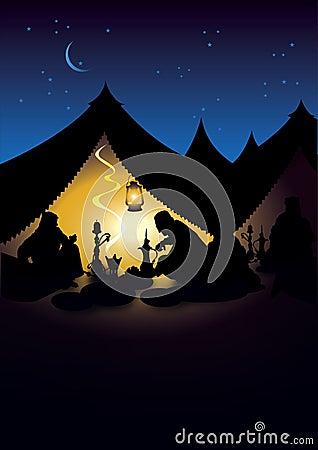 Ramadan tent