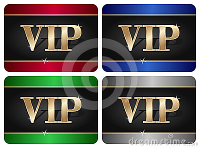 Ramassage de carte de VIP