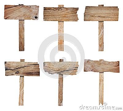 ramassage de signe et de panneau indicateur en bois photos libres de droits image 25997008. Black Bedroom Furniture Sets. Home Design Ideas
