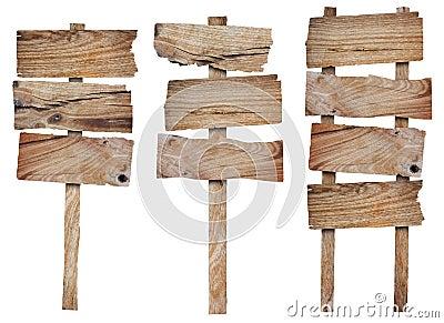ramassage de signe et de panneau indicateur en bois image stock image 25997061. Black Bedroom Furniture Sets. Home Design Ideas