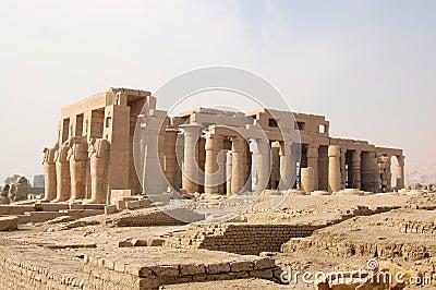 Ramasseum temple, Luxor