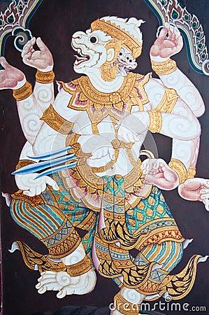 Ramayana Thai Art Fairy