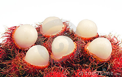 Rambutan fruit