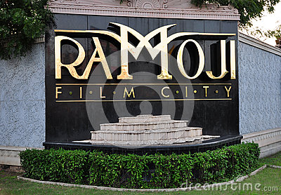 Ramoji Film City Signage Editorial Image