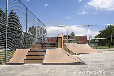 Ramp at Skate Park