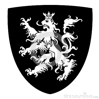 Rampant Lion Coat of Arms
