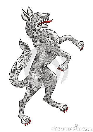 Rampant Wolf