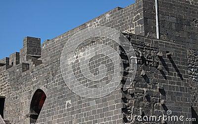 Rampart of Diyarbakir.