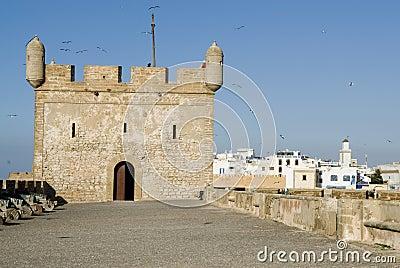 Rampart Essaouira, Marokko