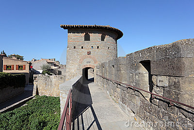 Ramparts of Carcassonne, France