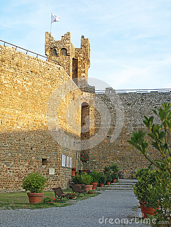 Ramparts at Montalcino
