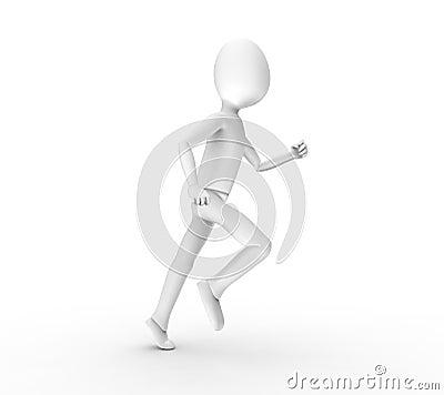 He ran and ran