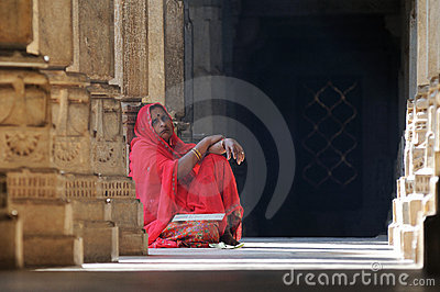 Ranakpur Temple Scene India Editorial Image
