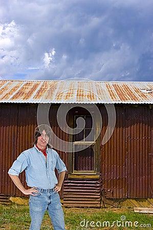 Ranch Hand Man Worker, Farmer or Laborer