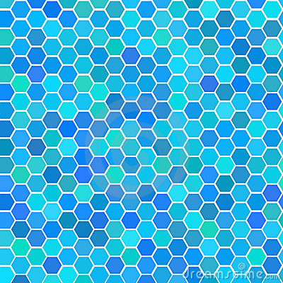 Random blue seamless tiles