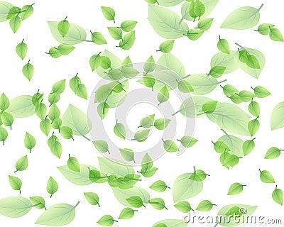 Random leaf pattern