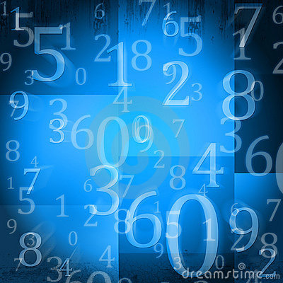 Free Random Numbers Royalty Free Stock Photography - 21582007
