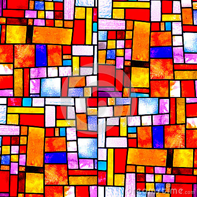 Free Random Square Multicolor Pattern Royalty Free Stock Image - 24853666