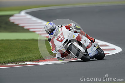 Randy krummenacher, moto 2, 2012 Editorial Stock Photo