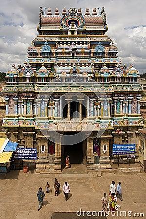 Ranganatha Hindu Temple - Srirangam - India Editorial Photo