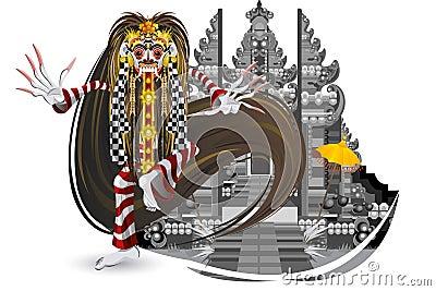 Rangda Leak Traditional Bali Dance