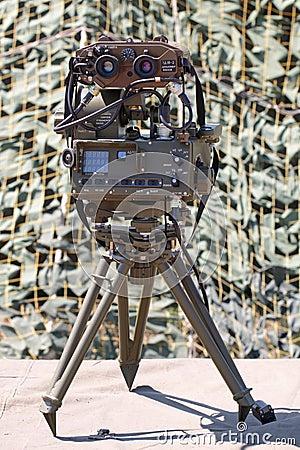 Range finder. Editorial Photo