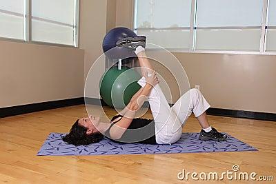 Range of motion leg stretch