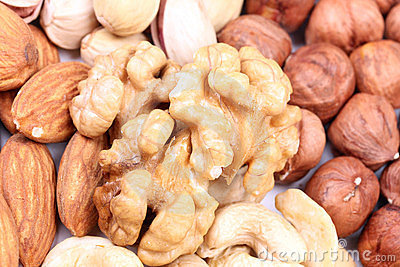 Range of nuts