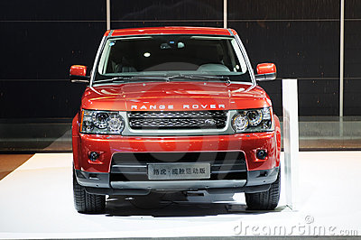 Range Rover Editorial Photography