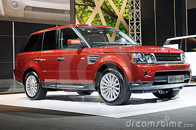 Range Rover Editorial Stock Image