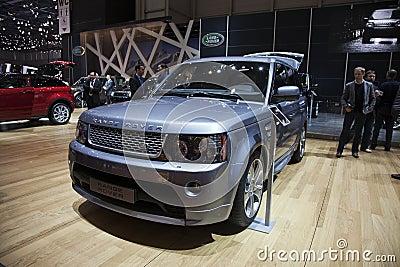 Range Rover Editorial Photo