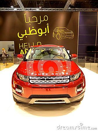 Range Rover Evoque Editorial Image