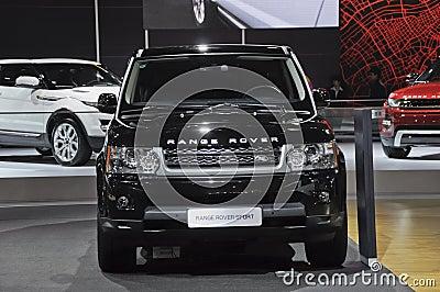 Range Rover Sport Editorial Image