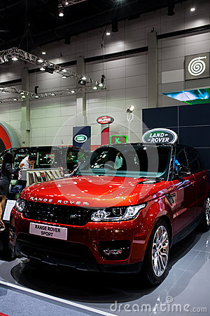 Range rover sport Editorial Photo