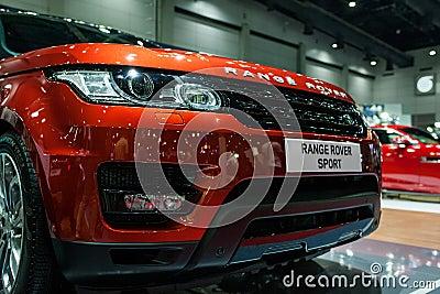 Range rover sport Editorial Stock Image