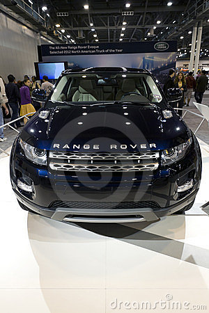 Range Rover SUV Editorial Photo