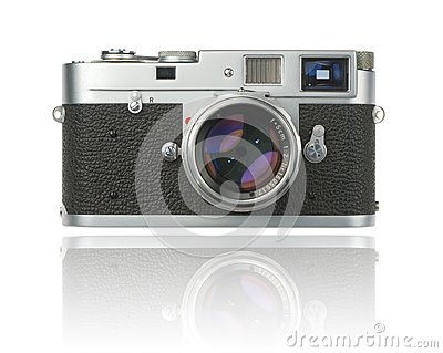 Rangefinder camera with clipping path