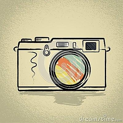 Rangefinder camera with Brushwork